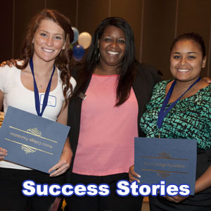 Click here to read Alum Success Stories